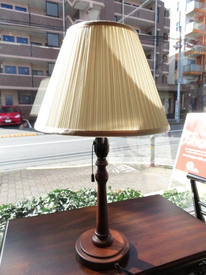 ランプシェード張替 プリーツタイプ モリス正規販売店のブライト_c0157866_18205150.jpg