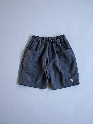 South2 West8 (S2W8) Belted Center Seam Short - Nylon Tussore / Black_b0139281_174311.jpg