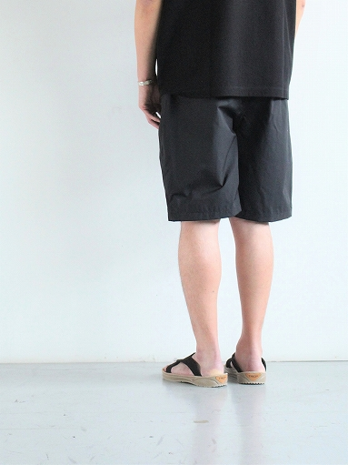 South2 West8 (S2W8) Belted Center Seam Short - Nylon Tussore / Black_b0139281_1744770.jpg