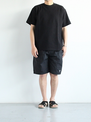 South2 West8 (S2W8) Belted Center Seam Short - Nylon Tussore / Black_b0139281_1751293.jpg