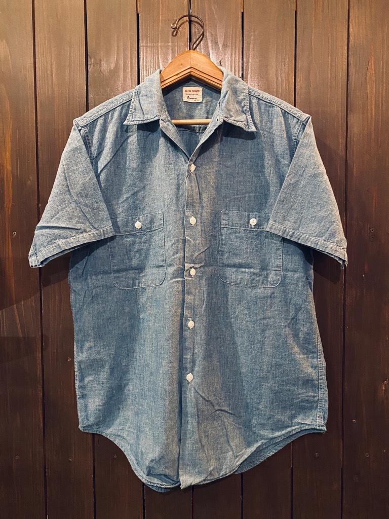 マグネッツ神戸店 5/13(水)ONLINE Vintage入荷! #4 Work&Casual Short Sleeve Shirt!!!_c0078587_12372924.jpg