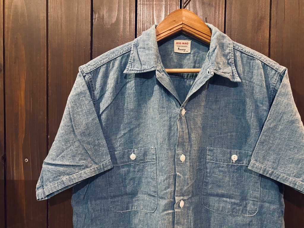 マグネッツ神戸店 5/13(水)ONLINE Vintage入荷! #4 Work&Casual Short Sleeve Shirt!!!_c0078587_12372993.jpg