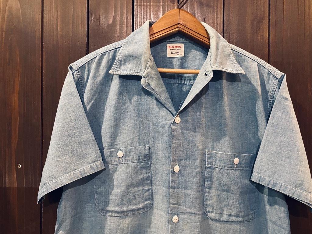 マグネッツ神戸店 5/13(水)ONLINE Vintage入荷! #4 Work&Casual Short Sleeve Shirt!!!_c0078587_12425984.jpg