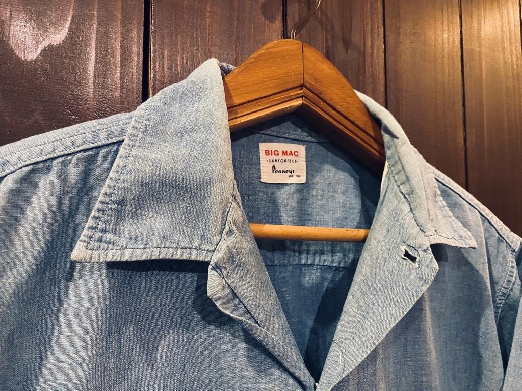マグネッツ神戸店 5/13(水)ONLINE Vintage入荷! #4 Work&Casual Short Sleeve Shirt!!!_c0078587_12430038.jpg