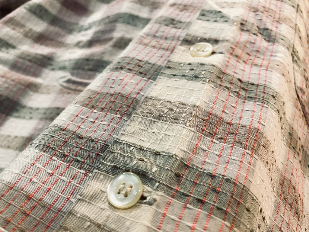 マグネッツ神戸店 5/13(水)ONLINE Vintage入荷! #4 Work&Casual Short Sleeve Shirt!!!_c0078587_17532981.jpg