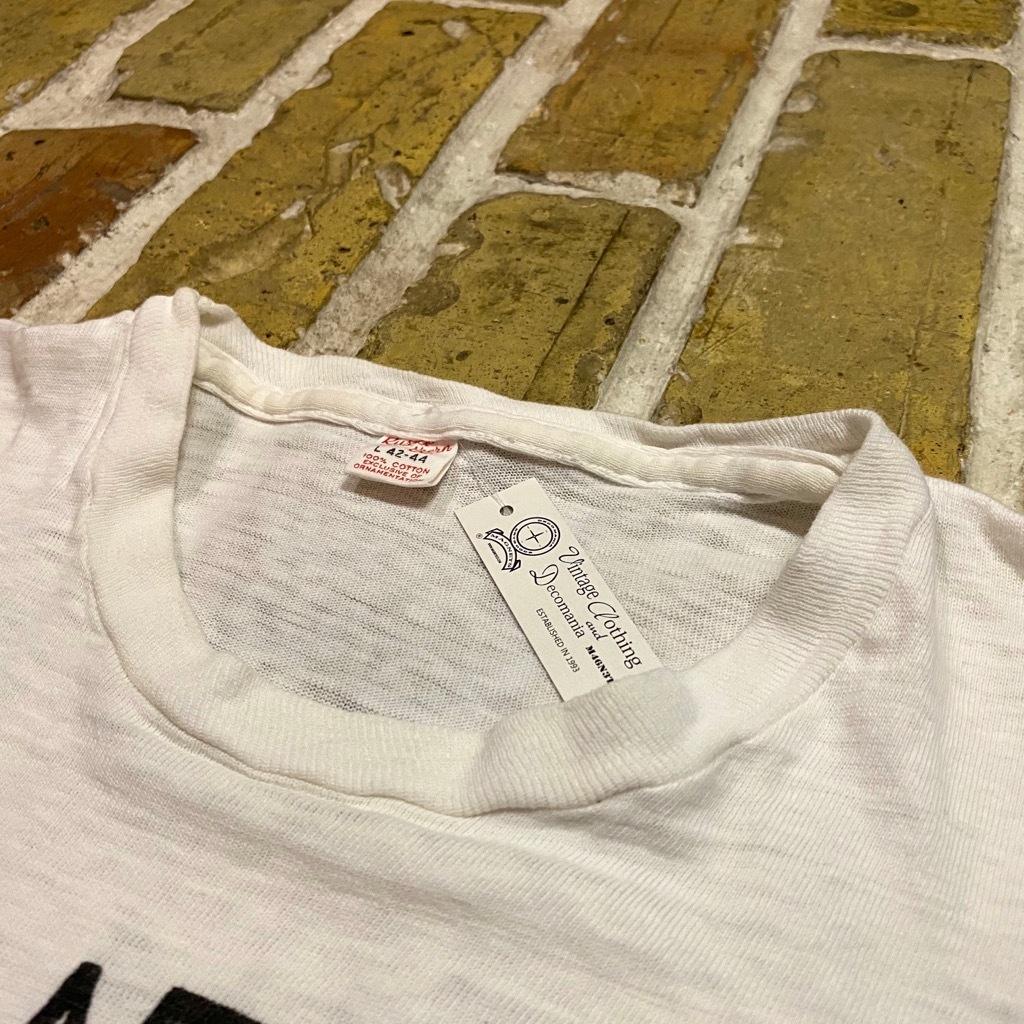 マグネッツ神戸店 5/13(水)ONLINE Vintage入荷! #7 Vintage T-Shirt Part2!!!_c0078587_20433553.jpg