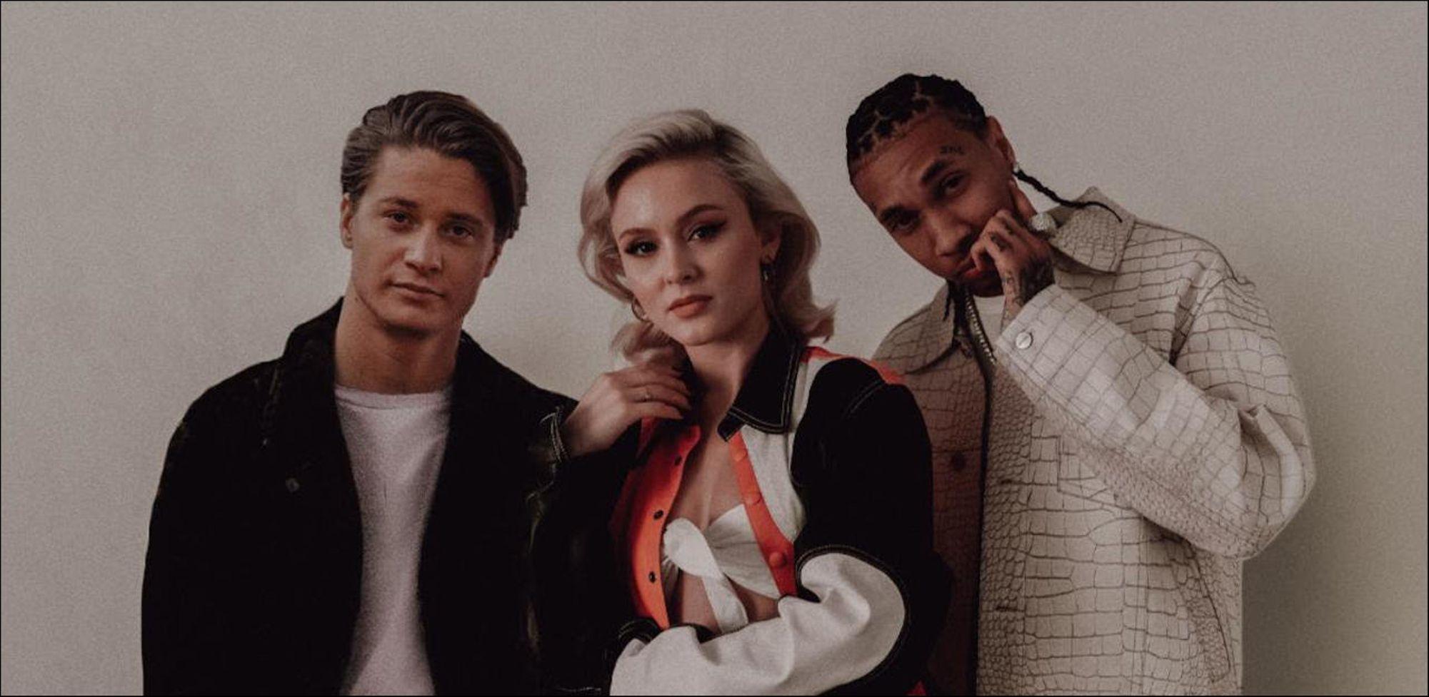 Kygo, Zara Larsson, Tyga「Like It Is」:エレクトロニック・サウンドの波間に漂う歌声_b0078188_18540955.jpg
