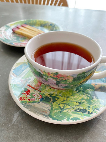 Thé à la Rose : バラの紅茶_f0038600_15531843.jpg