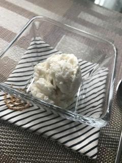 あるもので作るアイスクリームw保存OKバナナ_b0365715_05015966.jpeg