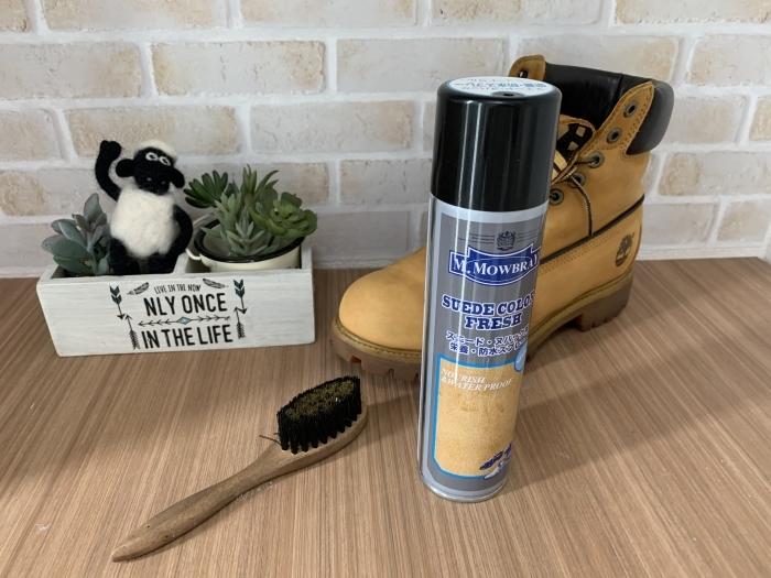 おうちで靴磨き「下駄箱コレクション」で起毛素材のお手入れ_b0226322_11425592.jpg