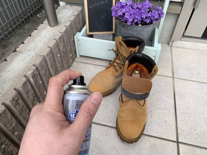 おうちで靴磨き「下駄箱コレクション」で起毛素材のお手入れ_b0226322_12480035.jpg