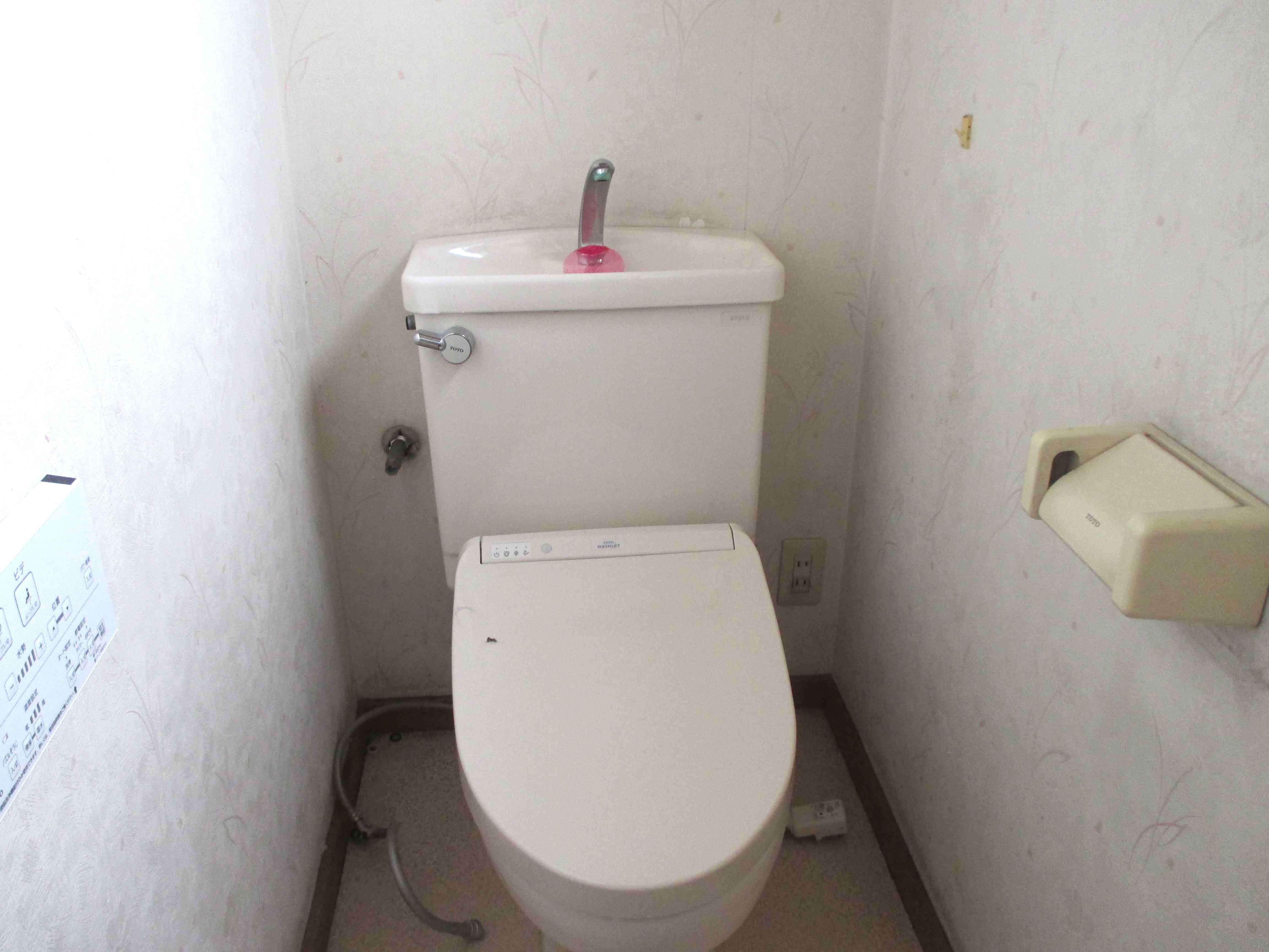 モリスの壁紙でトイレの『1DAY(ワンデイ)』リフォーム  ウィリアムモリス正規販売店のブライト_c0157866_17321019.jpg