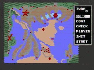 メガドライブ「スーパー大戦略」  久しぶりにやってみた_f0052082_13292915.jpg