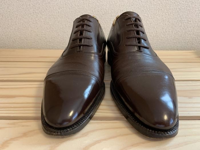 おうちで靴磨き「鏡面磨きを再び」_b0226322_16534587.jpg
