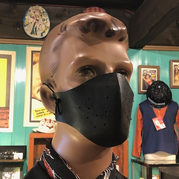 "Dry Bones \""Leather Crows Mask\""_f0093885_19100981.jpg"