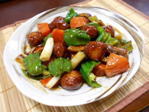 冷凍肉団子の酢豚風_f0019498_12210324.jpg