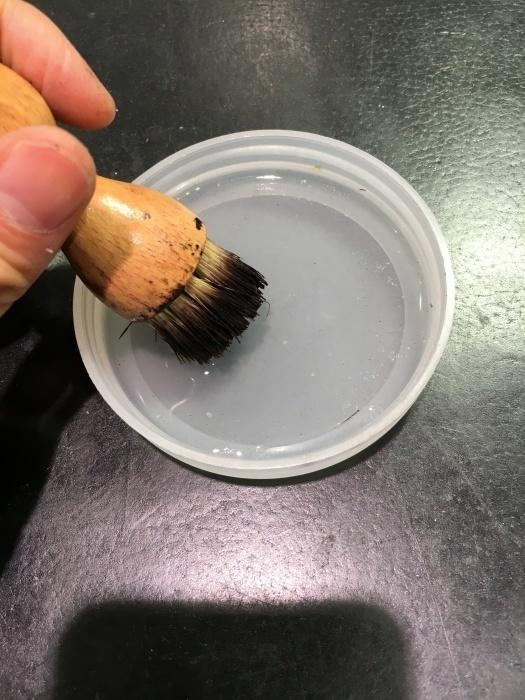塗布用ブラシは毛先が固まったら買い替え時??_b0226322_11521869.jpg