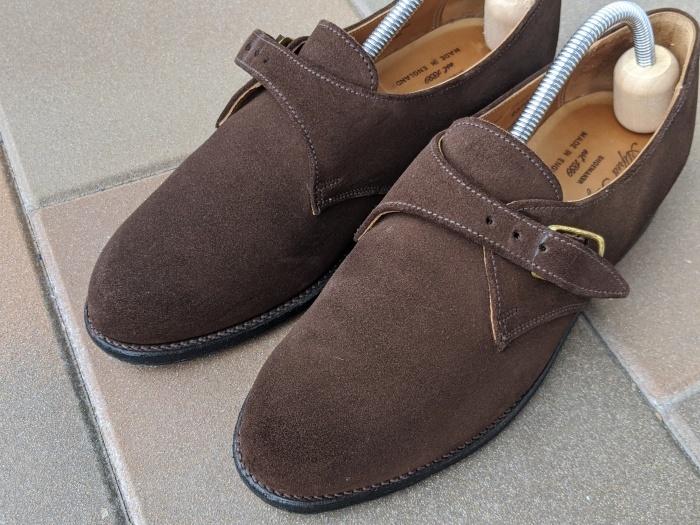 【おうちで靴磨き】使わないからこそ、今丸洗い!!2_b0226322_13003381.jpg