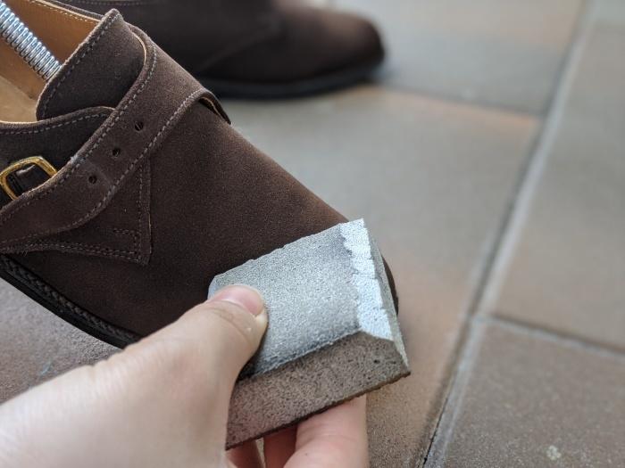 【おうちで靴磨き】使わないからこそ、今丸洗い!!2_b0226322_13005868.jpg