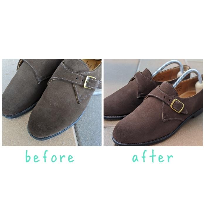 【おうちで靴磨き】使わないからこそ、今丸洗い!!2_b0226322_13133997.jpg