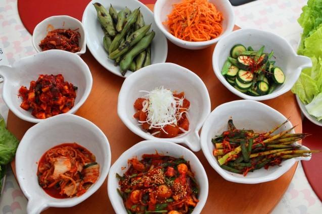赤い食卓「韓国ごはん」_d0377645_23154102.jpg