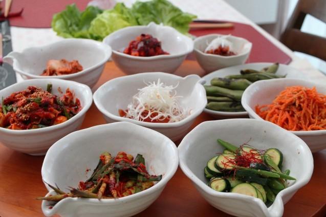 赤い食卓「韓国ごはん」_d0377645_23163923.jpg
