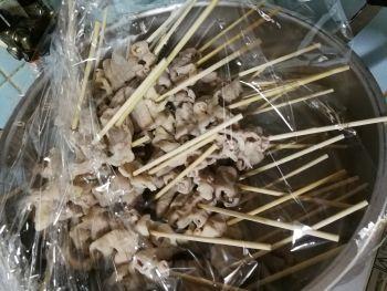西成の名店「やまき」的なホルモン串を作る_a0007462_11420772.jpg