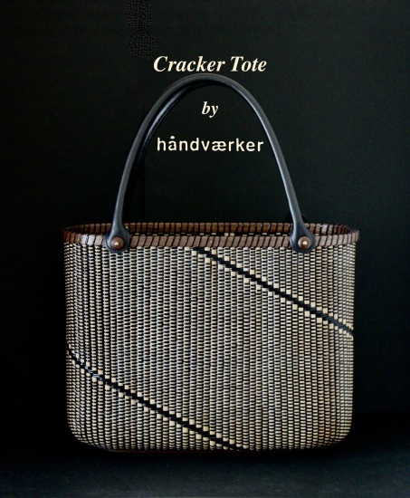 Cracker Tote All Black Basket_f0197215_08420965.jpeg