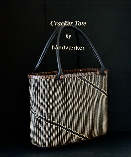 Cracker Tote All Black Basket_f0197215_08421192.jpeg