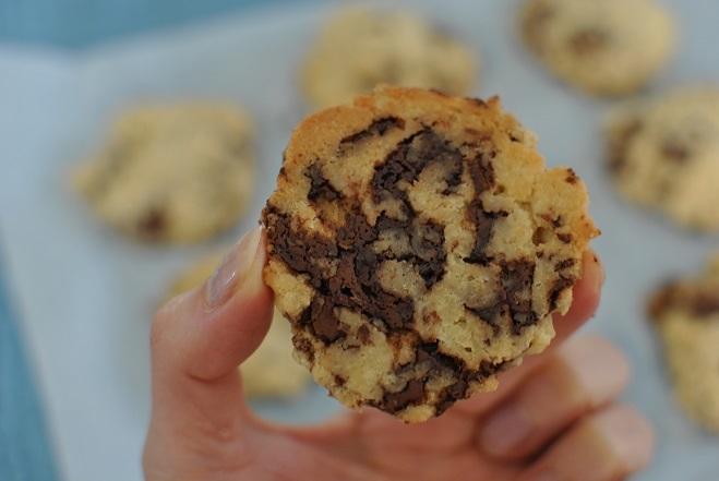 チョコチップクッキーを焼く_b0129725_11544569.jpg