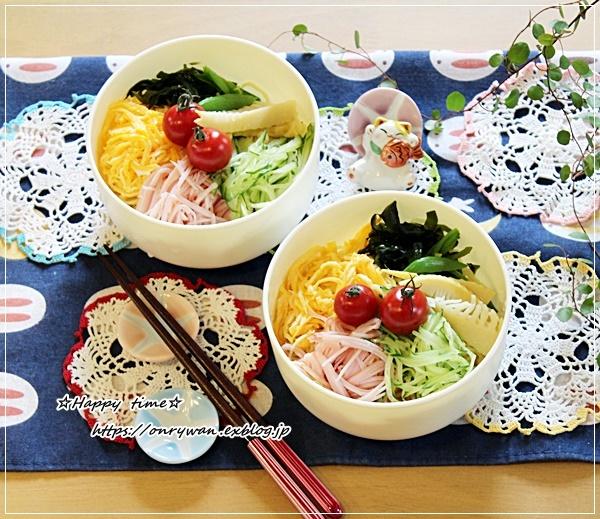 冷やし中華弁当はじめました!と家庭菜園・枝豆♪_f0348032_16523473.jpg