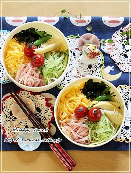冷やし中華弁当はじめました!と家庭菜園・枝豆♪_f0348032_16524479.jpg