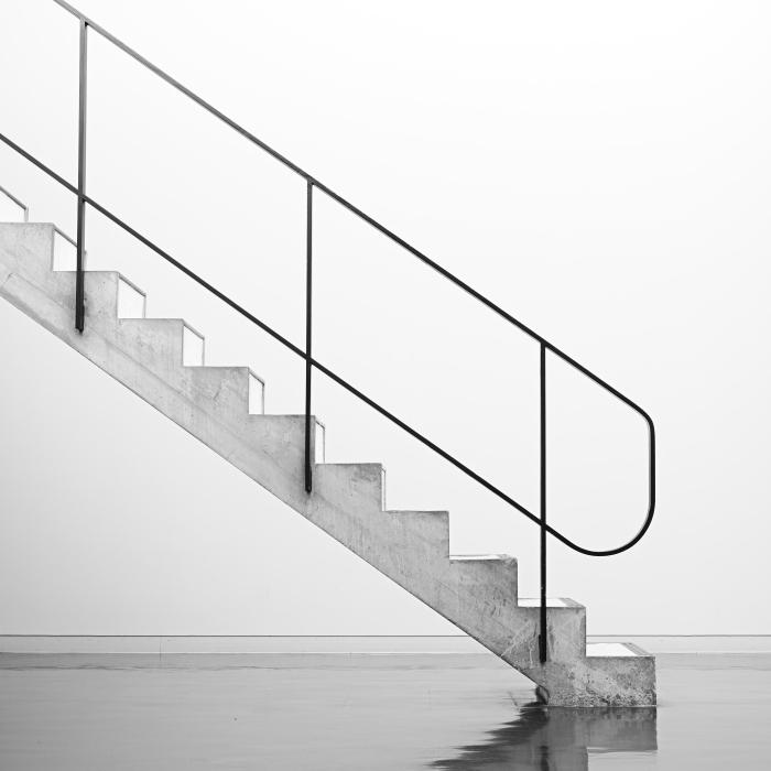 西洋美術館 ル・コルビュジエの階段_f0050534_16465697.jpg