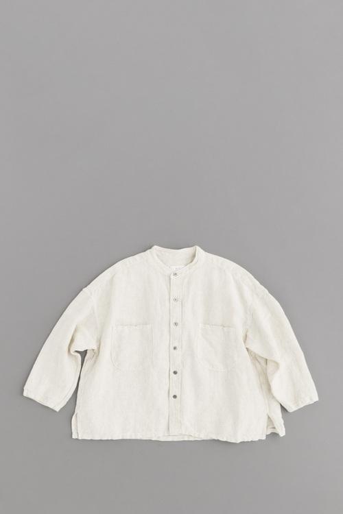 prit L/C Cnvas Stand Collar Big Shirt (Kinari)_d0120442_14472481.jpg