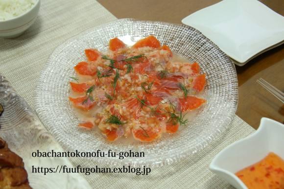 鶏もも肉のバーベキューソースグリルDEおうちバル&豚キムチ炒飯ランチ_c0326245_11551977.jpg
