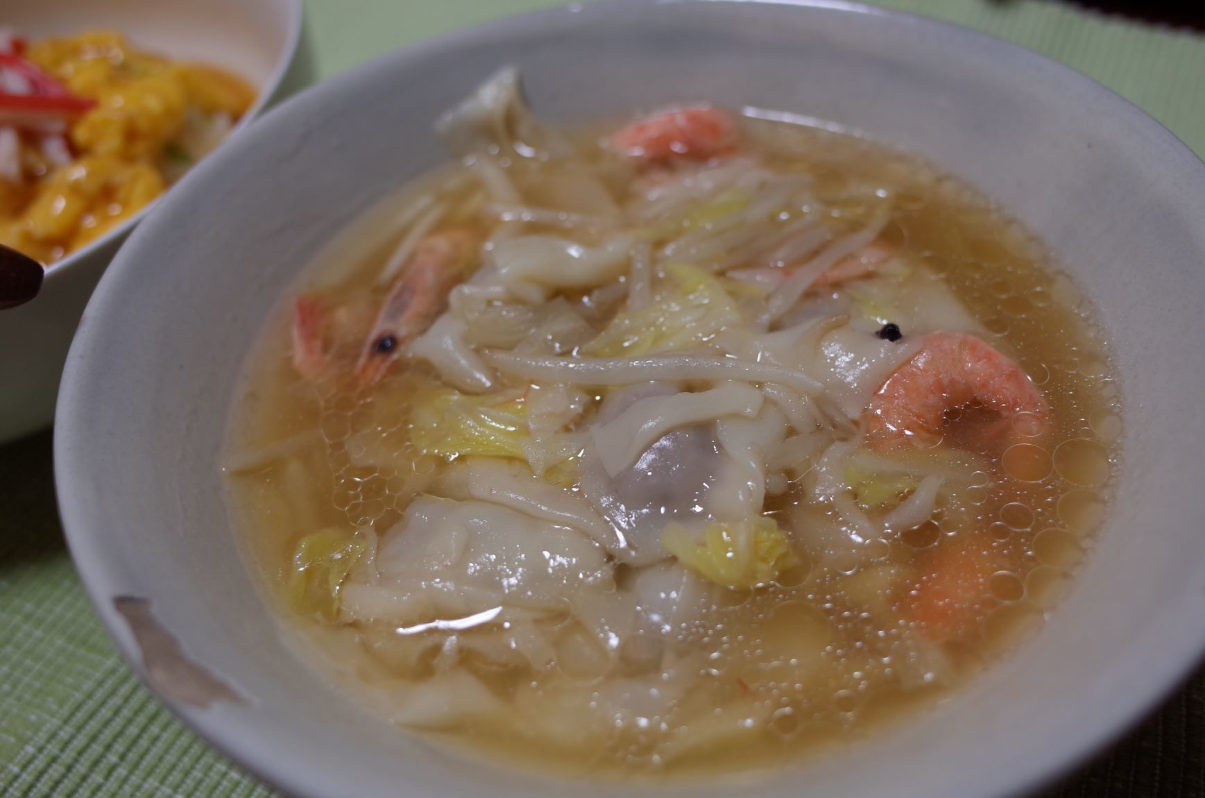 エア外食(天津飯)_d0389370_19283582.jpg