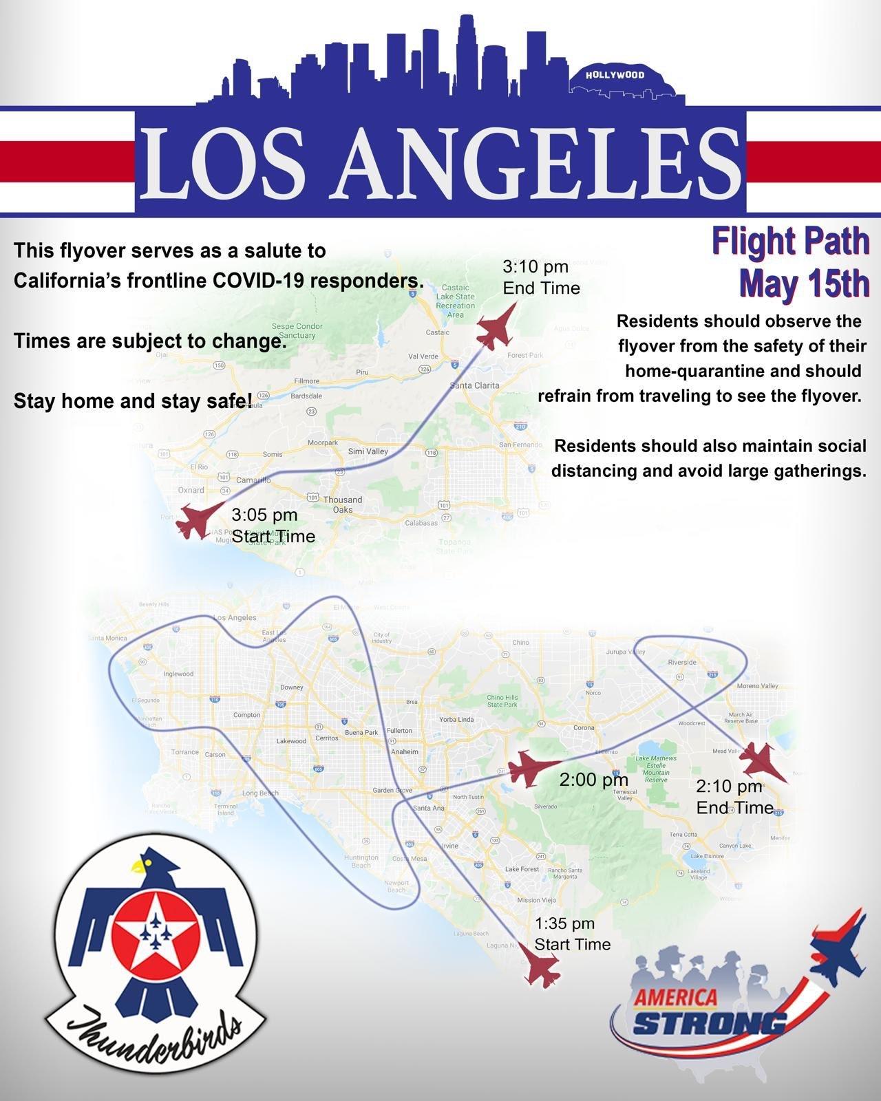 今日、空軍のサンダーバーズが南カリフォルニアを飛ぶ予定_e0350971_23005344.jpg