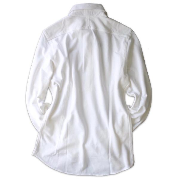 Drumohr ドルモア 鹿の子ジャージ ホワイトシャツ DTS619_c0118375_14491760.jpeg