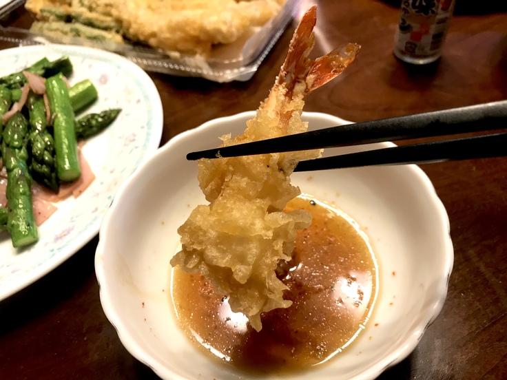 ランチは天ぷら☆オットが「てんや」からテイクアウト!_c0212604_13191959.jpg