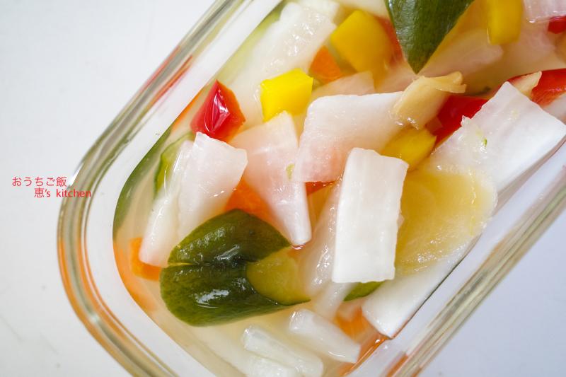 野菜の酢漬け_c0235725_05403825.jpg