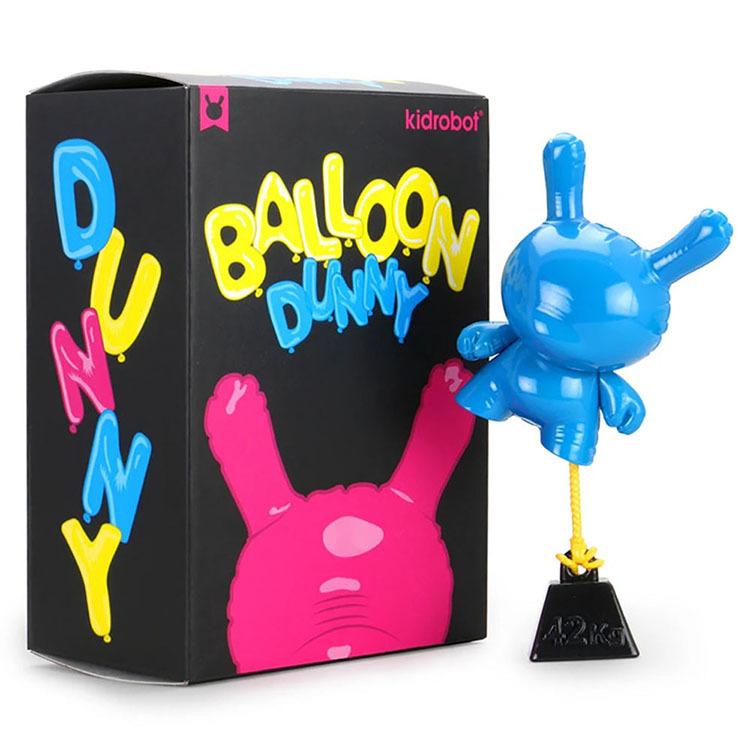 """8\"""" Balloon Dunny by Wendigo Toys - Cyan_e0118156_06381572.jpg"""
