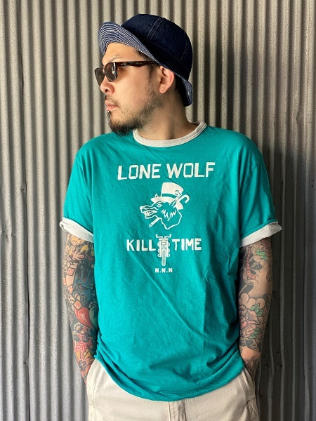"""NORTH NO NAME \""""LONE WOLF REVERSIBLE T\""""_f0093885_17203219.jpg"""
