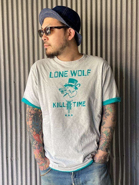 """NORTH NO NAME \""""LONE WOLF REVERSIBLE T\""""_f0093885_17203917.jpg"""