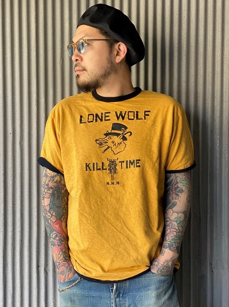 """NORTH NO NAME \""""LONE WOLF REVERSIBLE T\""""_f0093885_17204754.jpg"""