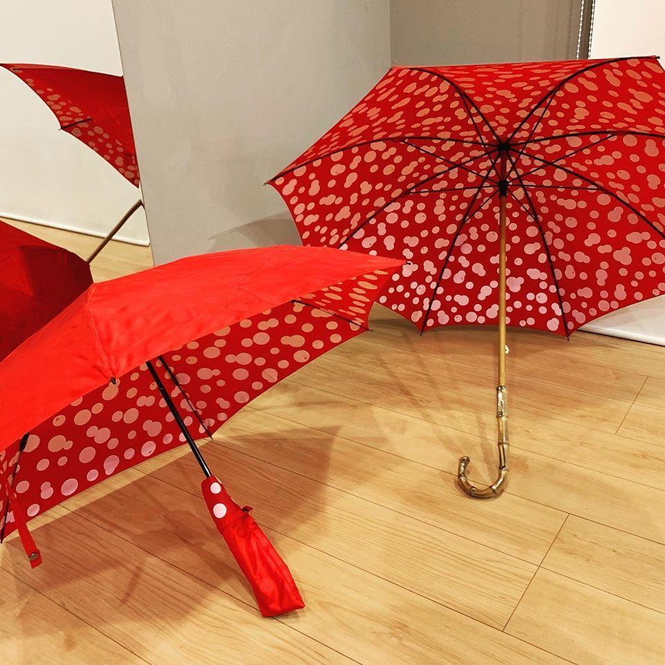 まるあ柄 傘が出来上がりました_c0223001_16065573.jpg
