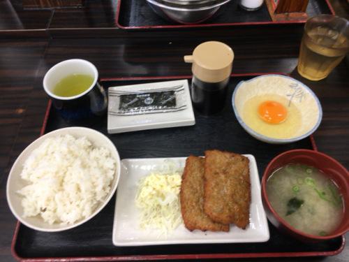 「資さんうどん 志免町店」朝食の貝汁変更がなくなった!ショック!_c0403415_20435502.jpg