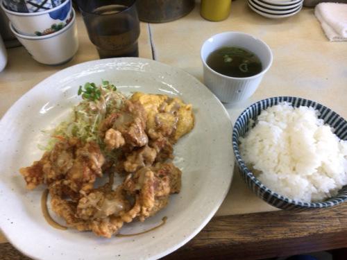 「山庄 渡辺通店」また食べちゃったよ定食の4番_c0403415_21203635.jpg