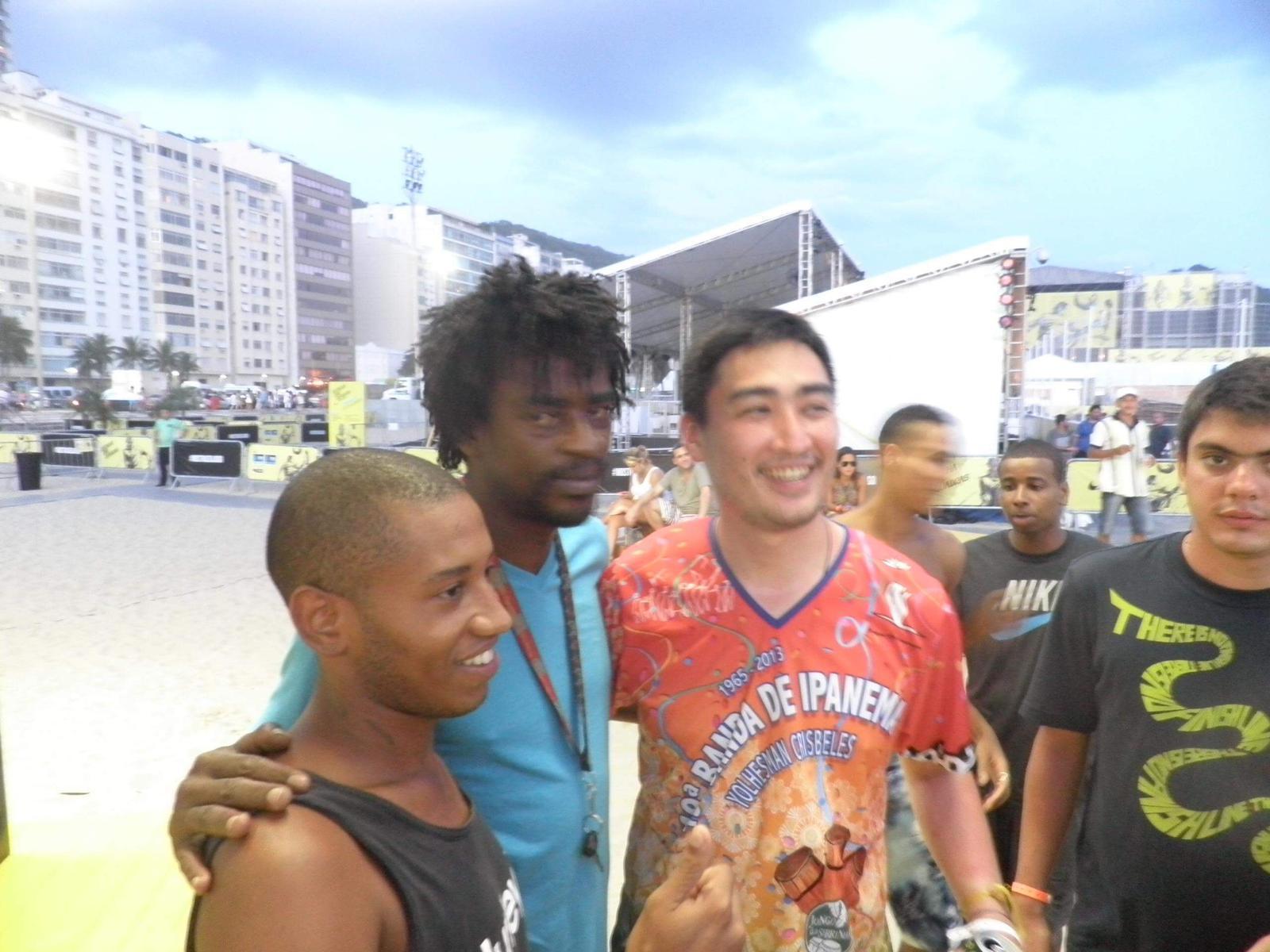 【動画シリーズ◉スタート】有名無名様々なブラジル人や世界の人たちが語るKEITA BRASILとは?#QuemehKeitaBrasil ? Darlan Lucas da IMPERATRIZ_b0032617_13484265.jpg