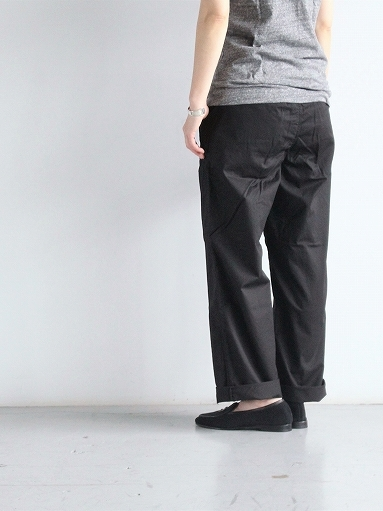 BRENA COQ PANTS - COTTON & LINEN WASHER KERSEY_b0139281_12190804.jpg