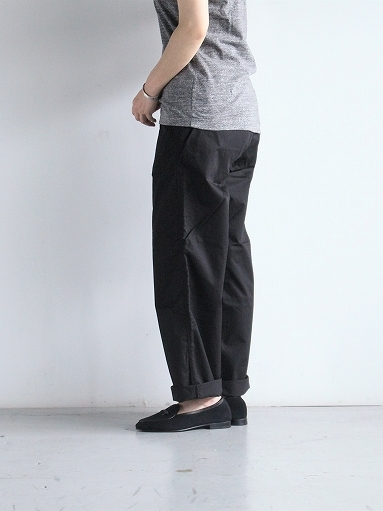 BRENA COQ PANTS - COTTON & LINEN WASHER KERSEY_b0139281_12190849.jpg